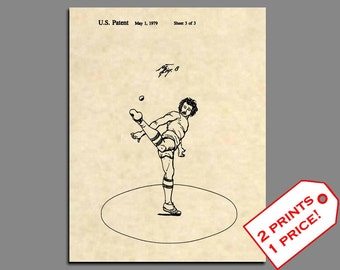Patent Prints - Wham-O Hacky Sack Patent Art Patent Print - Vintage Hackey Sack Hippie Art Patent Poster - Hippie Art Wall Art Hippy - 285