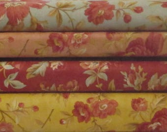 Larkspur Half Yard Fabric Bundle - 3 Sisters - Moda