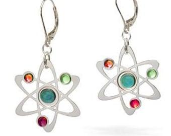 Science Symbol Earrings