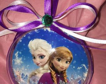Frozen elsa n anna ornament