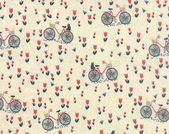Mon Ami by BasicGrey - Bicyclette in Creme (30413-11) - Moda - 1 Yard