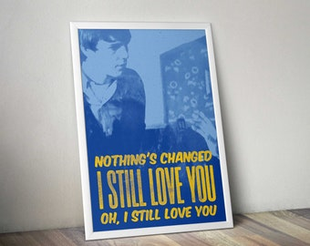 The Smiths artwork series Stop Me If You Think You've Heard This One Before limited edition A2 print