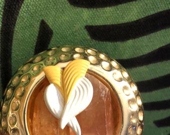 Pierced Vintage Dove Angel Wings