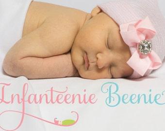 NEWBORN GIRL hospital hat, newborn girl coming home outfit, baby girl coming home outfit, baby girl hat, newborn girl hat, going home outfit