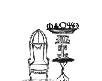 "Decorative Chair Collection: ""The Grecian"""