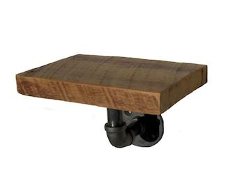 Industrial Pipe Shelf, Reclaimed Wood Shelf, Rustic Shelf, Industrial Furniture