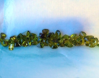 Lot of assorted genuine peridot