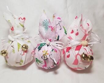 Flamingo Christmas Ornament, Flamingo Ornament, Christmas Flamingo Ornament, Pink Flamingo Ornament, Pink Ornament
