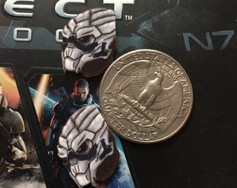 Mass Effect Garrus Vakarian Earrings