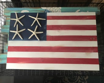 Nautical American Flag