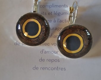 Earrings 'Africa'