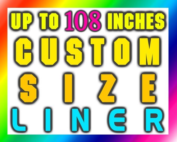 Custom Size Extra Long Shower Curtain Liner Wide Waterproof 84