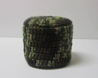 Toilet Paper Cover Spare Double Roll Camo Toilet Paper Storage-Ready to Ship-