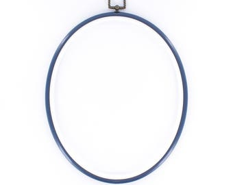 Frame, embroidery hoop oval 20 X 25 cm