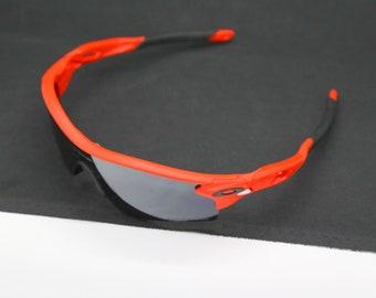 RARE OAKLEY LONDON Olympics Matte Burnt Orange Black Iridium Polarized Safehouse