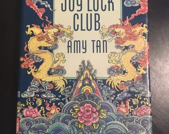 SIGNED first edition of The Joy Luck Club by Amy Tan