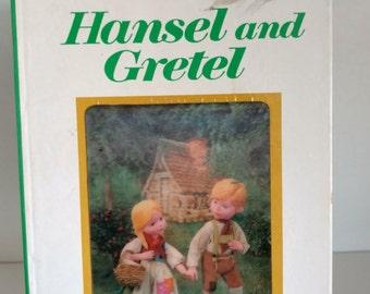 1970 A puppet storybook  Hansel and Gretal by Tadasu Izawa and Shigemi Hijikato