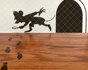 Mouse Sleuth Decal Set