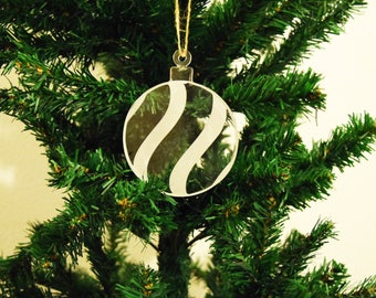 Bauble Christmas Decoration 3mm Acrylic Perspex®