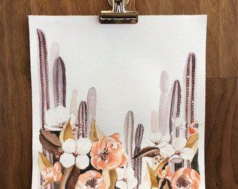 Cacti Floral