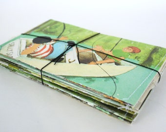 Recycled Envelopes. Set of 20. Made from Old Children's Books. eco friendly green unique great gift stationary mailers
