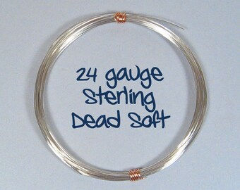 Sterling Silver Wire - 24ga DS - Choose Your Length