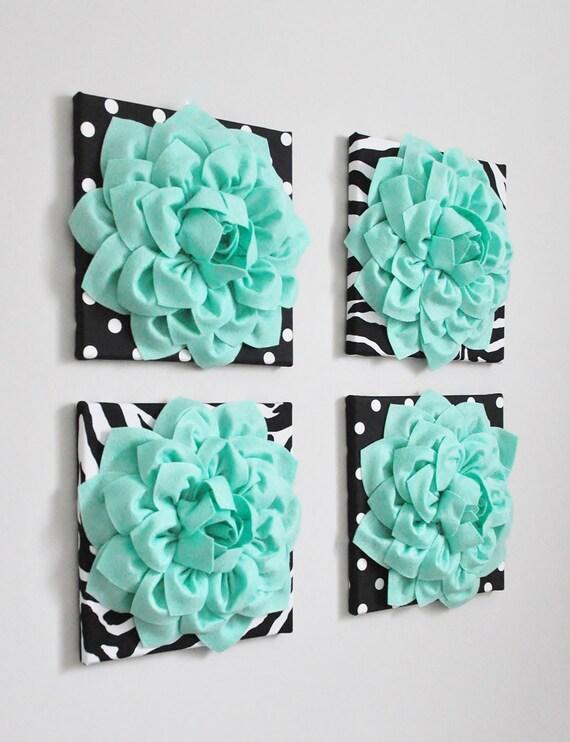 Mint Green Wall Art Lilac and Mint Moroccan Art Art Set of