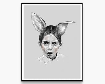 Something's Strange - Limited Edition Art Print for the Home Interior