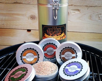 """3 or 5 Gift Set """"The BBQ Collection"""" Meat Rubs"""