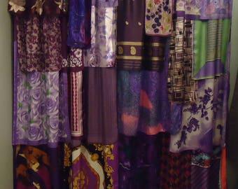 Shades of Purple Gypsy Boho Curtain