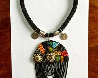 Cappadocia with bicycle necklace