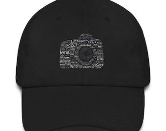 Photographer Dad hat - Photographer hat - Photographer Camera hat