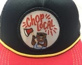 "Infant/Toddler Trucker Hat with ""Chop Local"" ..."
