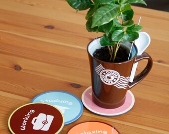 Customized Coaster Set with your graphics