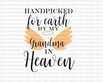 Grandma in heaven