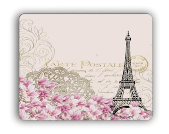 Paris Postcard Mouse Pad for Work or Home