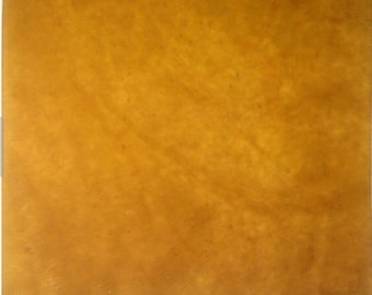 Sheet - GOLD HONEY AMBER Translucent Stipple Stained Glass Supply E03
