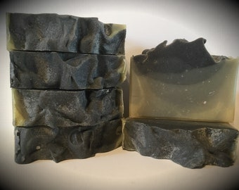 London Fog scented soap, handmade soap, artisan soap, cold processed soap