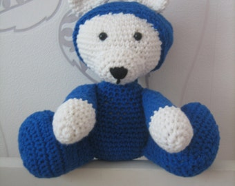 Amigurumi bear toy room decoration child pajamas