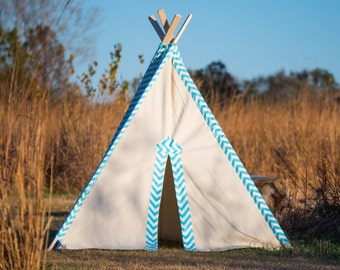 Tent No. 0306XL - Kid's Extra Large Teepee Play Tent