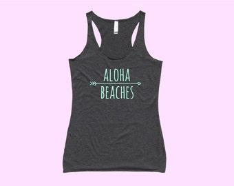 Aloha Beaches - Fit or Flowy Tank