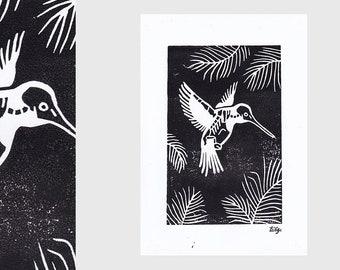 Colibri Lino Print