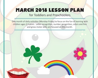 Digital Toddler And Preschool Lesson Plans