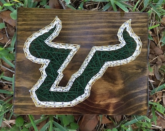 Made To Order - USF University of South Florida String Art
