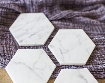 Marble Coasters | FREE SHIPPING |