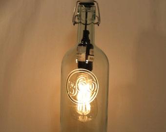 360 Vodka Recycled Bottle Hanging Pendant Light