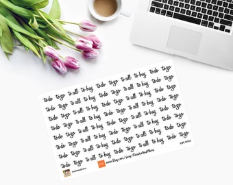 To Do,  To Go, To Call, To Buy Planner Stickers CAM00012