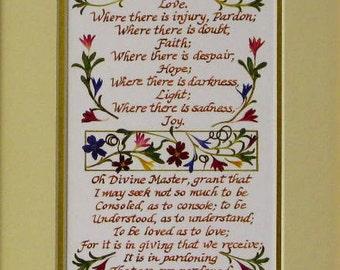 Prayer of st francis | Etsy
