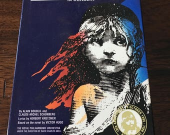 Les Miserables The Musical VHS