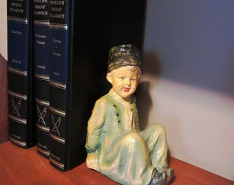 Vintage Chalkware Dutch Buy Bookend Chalk Ware 40s 50s